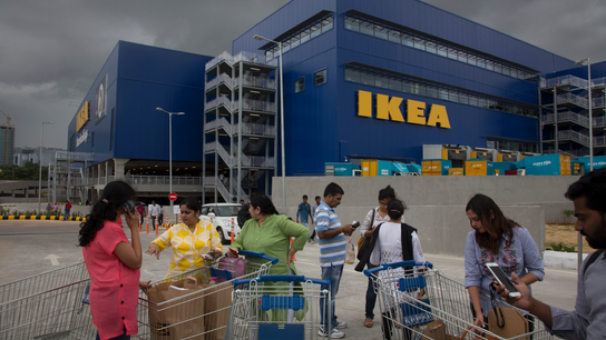 Ikea woos India's rising consumer class, tapping new markets