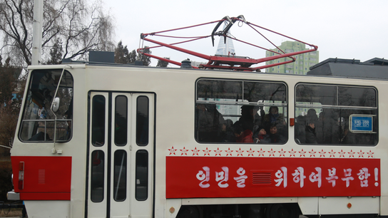Cheap and green: North Korean capital upgrades mass transit