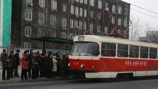 Cheap and green: Pyongyang upgrades its mass transit system