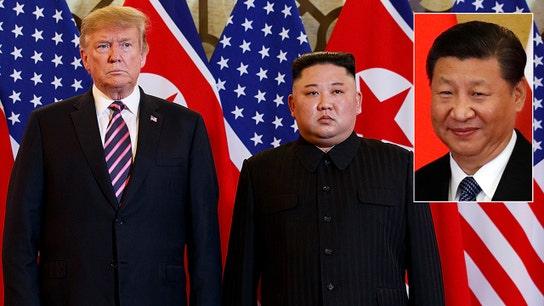 Trump warning for China after Kim summit
