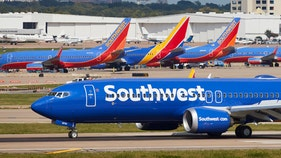 Southwest jet makes emergency landing after a fire inside the plane