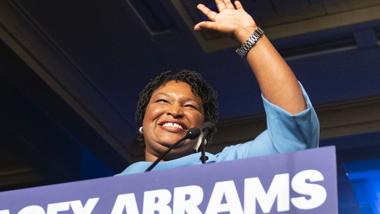 Political spending by Abrams' nonprofit could pose problems