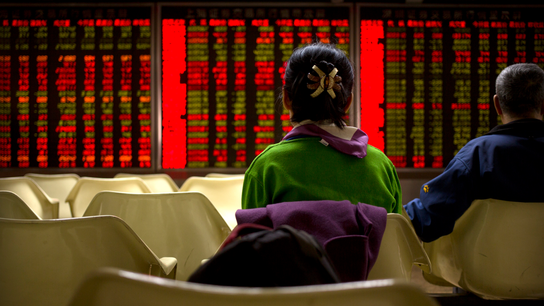 Asian markets trend lower, tracking Wall St losses