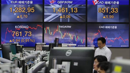 Asian stocks edge up on stimulus hopes after Chinese data