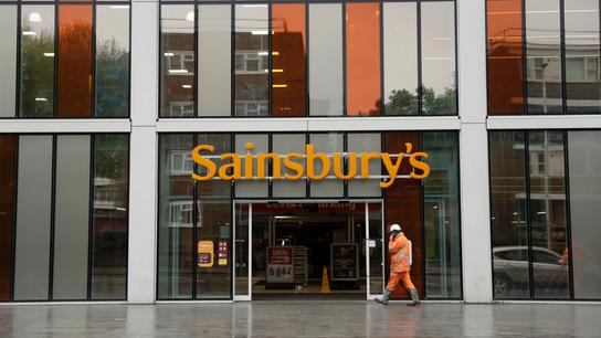 UK blocks Sainsbury's merger with Walmart unit Asda