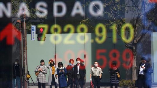 Asian stocks follow Wall Street higher on upbeat data