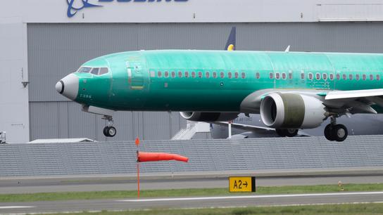 The Latest: Boeing estimates 737 Max costs of $1 billion