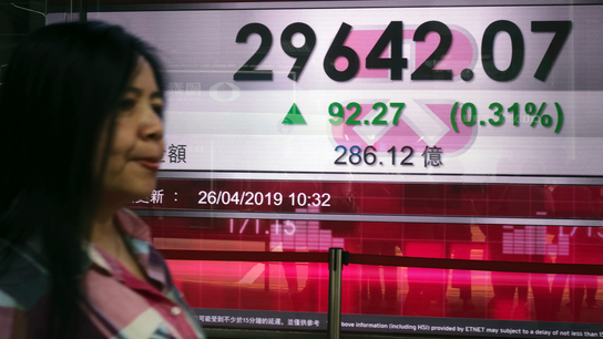 Asian shares fall on China stimulus worries, patchy earnings