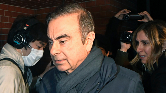 Ex-Nissan boss Ghosn granted $4.5M bail, with curbs on contacting wife