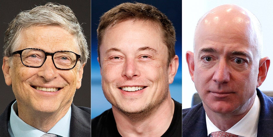 Elon Musk, Bill Gates, Jeff Bezos took a personality test and each