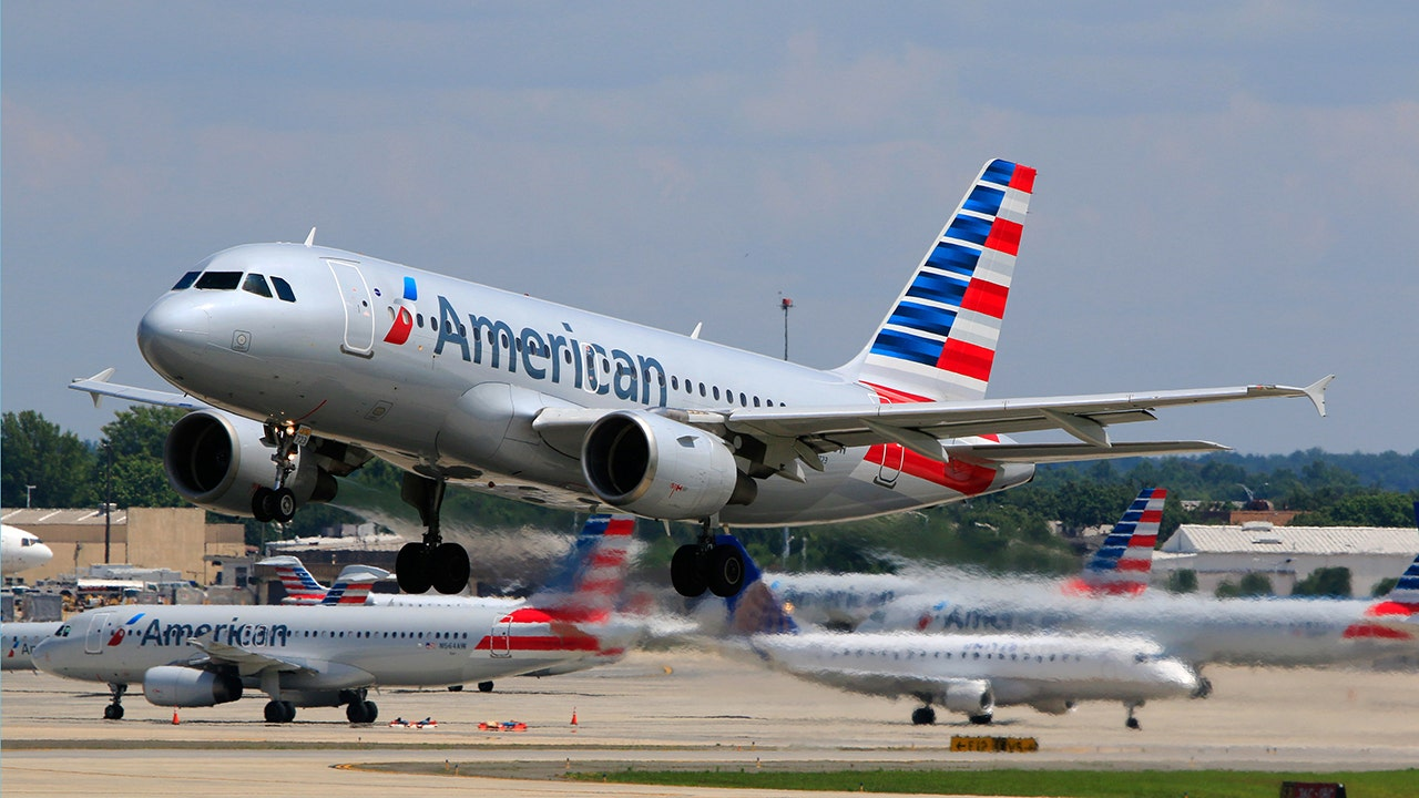 American Airlines flight attendant says carrier prevented her...