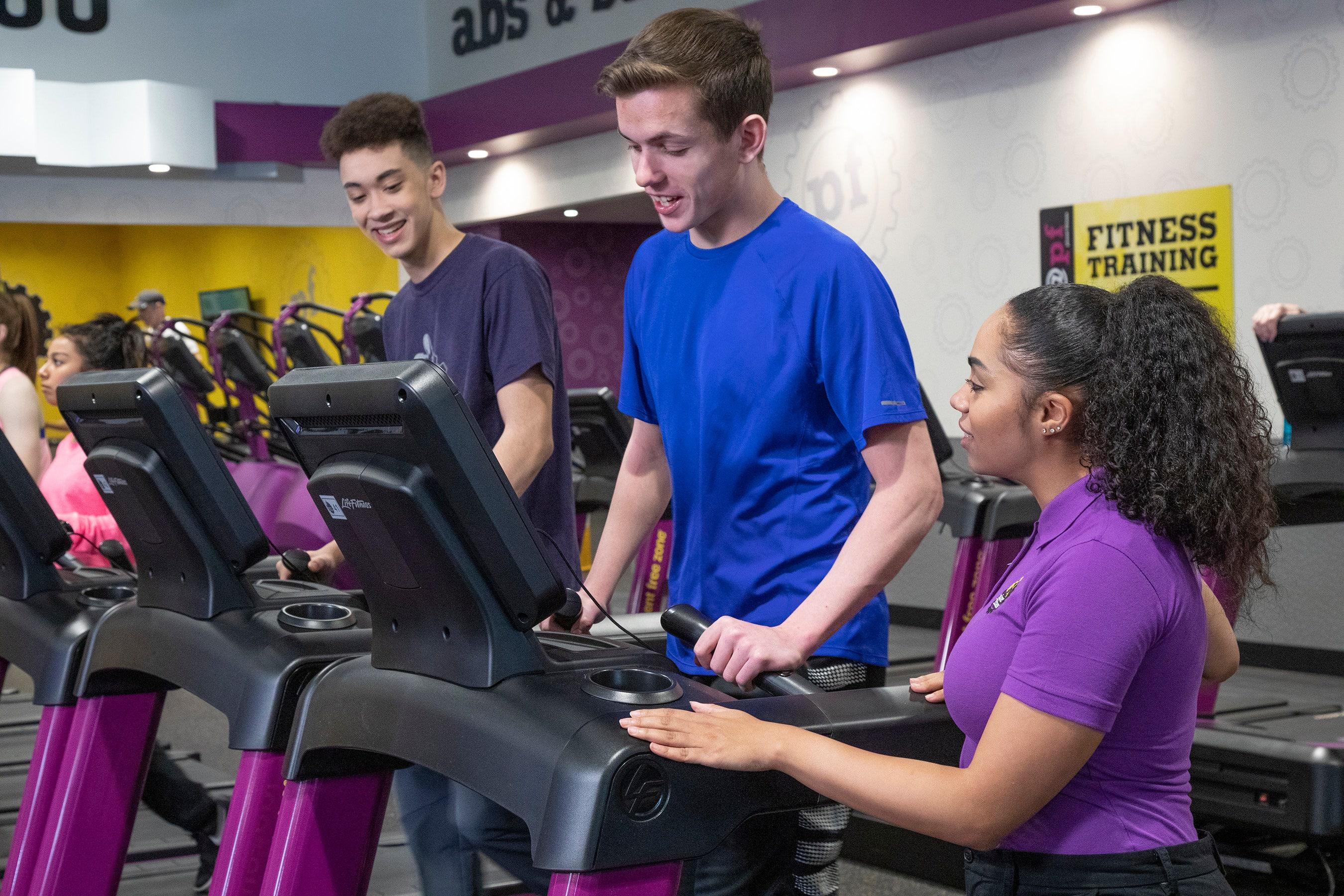 Of teen gym memberships are