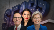 Elizabeth Warren, AOC team up to jab Mnuchin for role in Sears' demise