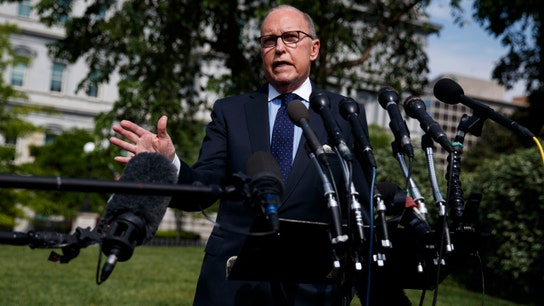 Larry Kudlow says Fed Chair Powell's job is safe 'at the present time'