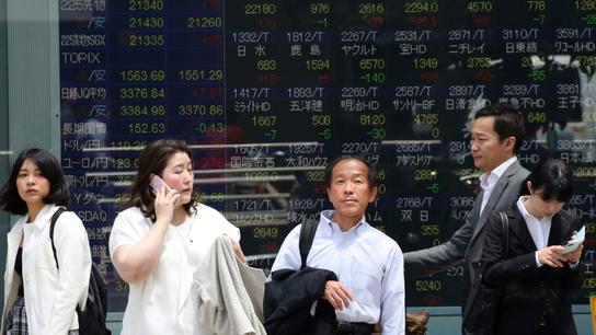 Asian shares mixed; election results buoy India, Australia