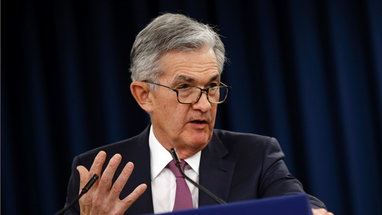 Powell says he sees 'moderate' risk from corporate debt