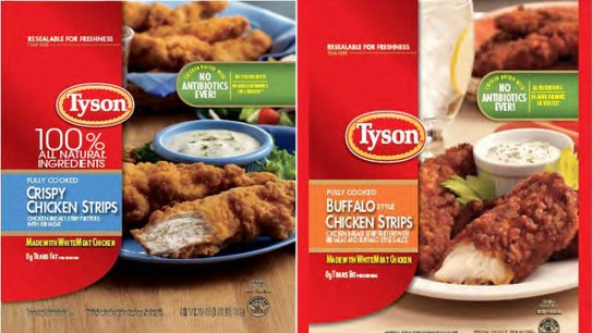 Tyson Foods expands recall to almost 12 million pounds of chicken strips