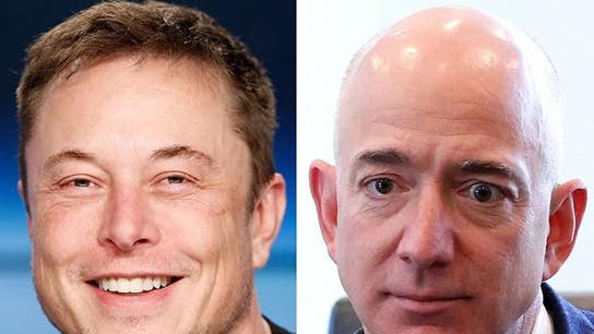 Elon Musk mocks Jeff Bezos' space colony vision in snarky tweet