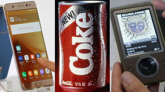 Worst product failures, from Coca-Cola's New Coke to Microsoft's Zune
