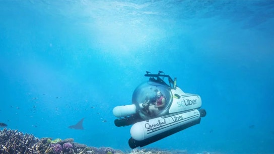 Uber launches $2,000 submarine trips to Great Barrier Reef with 'scUber'