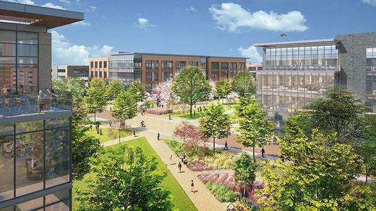 Walmart unveils plans for new 350-acre Arkansas campus