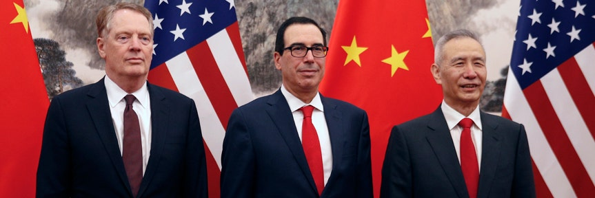 Trump says China's vice premier coming to US to 'make a deal'