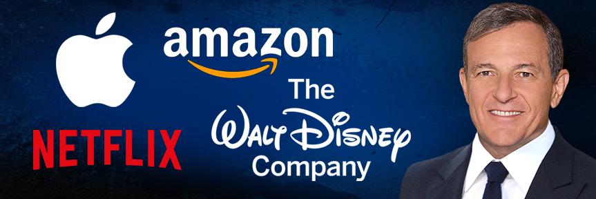 Disney CEO Bob Iger using Star Wars, Marvel, originals to test Netflix, Amazon, Apple