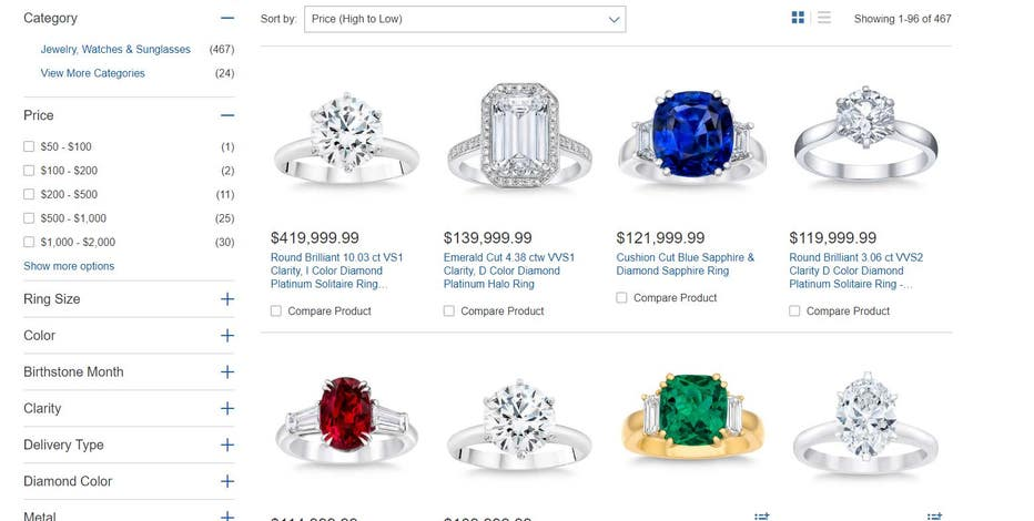 Costco shopper's $400G diamond ring purchase gave chain