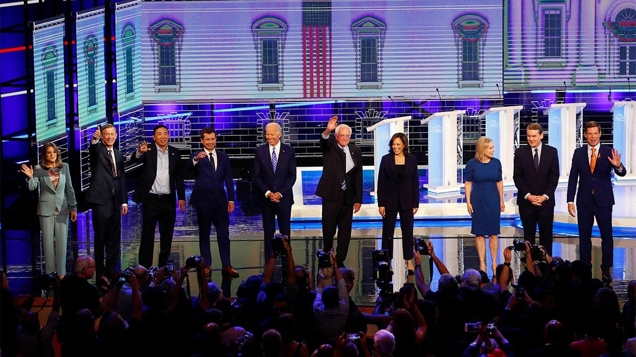 2020 Democratic candidates list China, NATO as global