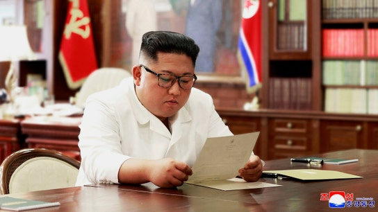 North Korea says Kim received 'excellent' letter from Trump