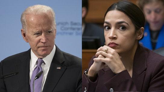 Biden vs AOC: VP's 2020 run pits him against Democratic progressives