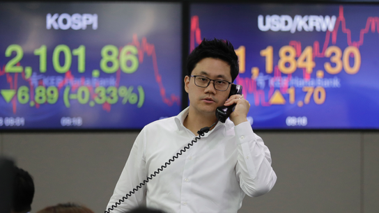 Asian shares mixed on jitters over Hong Kong protests