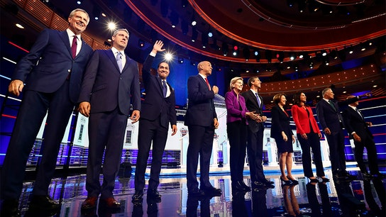 In first Democratic debate, candidates clash on health care but unite against big business