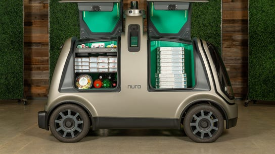 Domino's pizza pie to be delivered using robotic vehicle