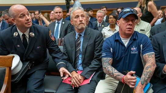 9/11 first responders react to Jon Stewart's emotional plea for victim compensation funding