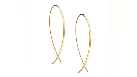 Lana Jewelry's success and the founder's search for the perfect gold hoop earrings