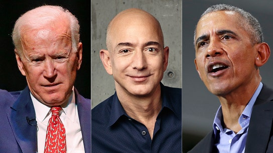 Biden blasts Amazon for tax strategies that Obama supported