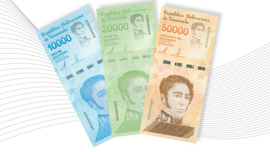 Venezuela to issue 50,000 bolivar bill, equivalent to about $8