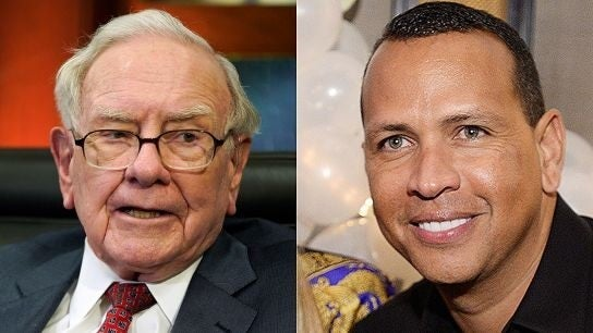Warren Buffett praises Alex Rodriguez's business sense: 'He's got a money mind'