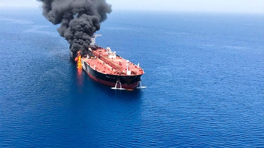 US blames Iran for explosions of oil tankers in Strait of Hormuz