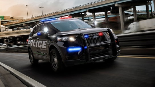 Ford's new police Explorer aimed to dominate law enforcement