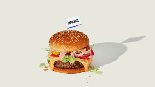 Impossible Foods says its plant-based burger shortage is over
