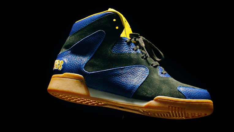 Planters selling Mr. Peanuts 'Crunch Force 1' sneakers