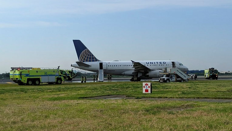 Diverted United Flight Makes Emergency Landing at Newark Airport