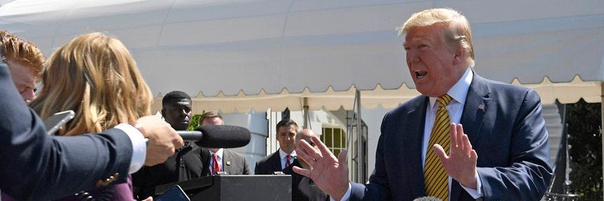Trump says US will impose 'major' sanctions on Iran starting Monday
