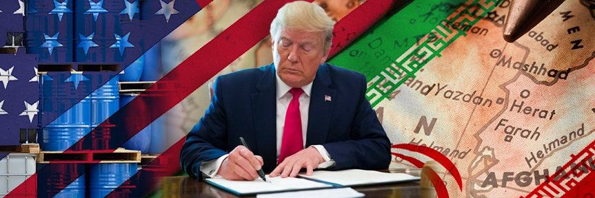 Trump signs executive order to impose 'hard-hitting' sanctions on Iran