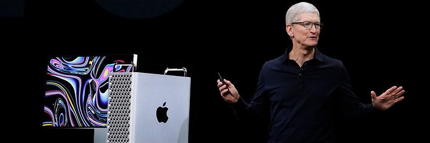 Apple unveils $5,999 Mac Pro computer aimed at professionals