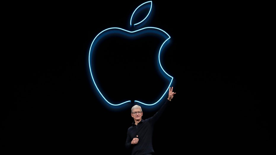Tim Cook, Apple CEO, talks to crowd at Apple Conference, Fox News