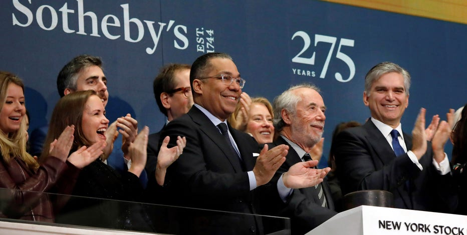 Sotheby's auction house to go private in $3.7B deal