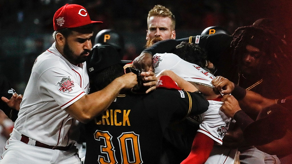 Astounding Baseball Brawls Like Reds Pirates Fight Draw Suspensions Onthecornerstone Fun Painted Chair Ideas Images Onthecornerstoneorg